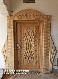 Door Design Interior, Exterior Design, Door Design Images, Wooden Main Door Design, Dressing Table, Panel Doors, Wooden Doors, Box Design, Wood Carving