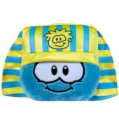 """4"""" Blue Puffle with Pharaoh Hat"""