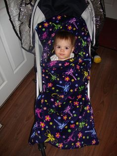 For the stroller. Great idea! like a sleeping bag!