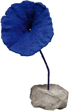 "Yves Klein (French, 1928-1962) - ""Untitled"", 1959 - Blue sponge sculpture"