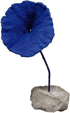 "Yves Klein (French, 1928-1962) - ""Untitled"", 1959 - Blue sponge sculpture Yves Klein, Concrete Sculpture, Modern Sculpture, Sculpture Art, Tachisme, T Art, Art For Art Sake, Nouveau Realisme, Image Bleu"