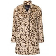 By Malene Birger Elasia Leopard Coat. Perfectly styled for our leopard print car mats in our Car Couture line.