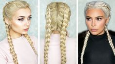 Hello my lovelies! I have a quick and easy hair tutorial for you on how to double dutch braid your own hair. I hope you guys enjoy this Tumblr inspired hair ...