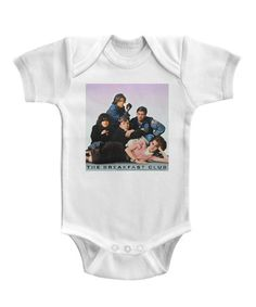 17cbfe497 Love this White 'The Breakfast Club' Photo Bodysuit - Infant on #zulily!
