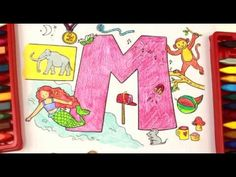 Colouring Pages For Toddlers Alphabet : Coloring and learning letter bsuper simple abcsalphabet for kids