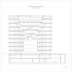 Stuttgart City Library,section