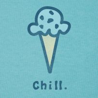 I love to chill with my kids in the summertime (and indulge in a little mint chocolate chip!) #Lifeisgood #Dowhatyoulike