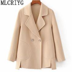 Coats For Women, Jackets For Women, Clothes For Women, Iranian Women Fashion, Maxi Cardigan, Mode Hijab, Winter Fashion Outfits, Faux Fur Jacket, Wool Coat