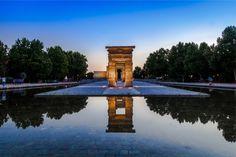 Templo Debob Madrid Atardecer