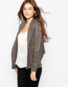 See+U+Soon+Longline+Chunky+Knit+Cardigan+with+Pockets