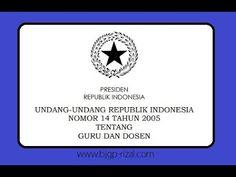 Apasih Tugas Utama Guru UU No14 thn 2005 - YouTube