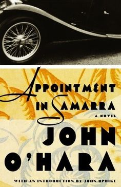 Appointment in Samarra by John O'Hara, first mentioned on page 20 of The End of Your Life Book Club Book Club Books, Good Books, Books To Read, Any Book, Love Book, Best Novels, Popular Books, Spoken Word, Book Of Life