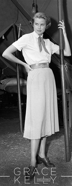 Grace Kelly in 'Mogambo', 1953. Costume by Helen Rose.