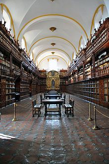 Puebla, Puebla - Wikipedia, the free encyclopedia. Library was founded in 1646. First public library in North America.