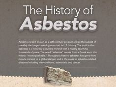 Mesothelioma - History, Hazards and Dietary Advice