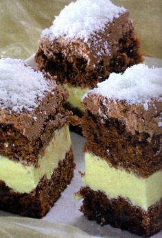 Romanian Desserts, Romanian Food, Sweet Cooking, Homemade Sweets, Sweet Cakes, Desert Recipes, Dessert Bars, Chocolate Desserts, Delicious Desserts