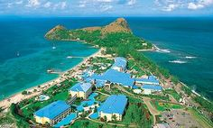 Honeymoon destination #2...Sandals - Grande St. Lucia