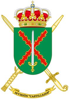 Archivo:Coat of Arms of the Division Castillejos. Military Police, Army, Medieval Shields, Mystery Of History, Coat Of Arms, Division, Spanish, Christmas Ornaments, Holiday Decor