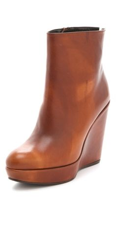 Stuart Weitzman Invent Wedge Booties - got these boots today...very cool...thanks shopbop...I love you:-)