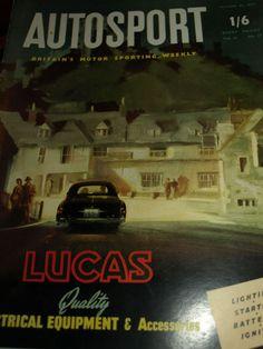 STIRLING MOSS & PETER COLLINS WIN TARGA FLORIO 1955 MERCEDES 300SLR FANGIO
