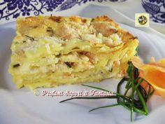 Lasagne al salmone e robiola  Blog Profumi Sapori & Fantasia