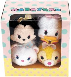 Limited Edition Harajuku Tsum Tsum Plush Set - Available only in Japan
