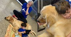 """AUTISTIC BOY NEVER LET ANYONE HUG HIM. THEN HE GETS A DOG...  """"SAVE A DOG AND SAVE A VETERAN"""". TRAINING RESCUE/SHELTER DOGS TO SERVE AS SERVICE DOGS FOR CIVILIANS AND, FREE, FOR U.S. VETERANS. http://www.DogEvolution.us (Service Dog Training) (http://dogt"""