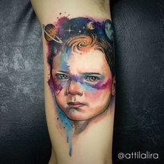 child tattoo
