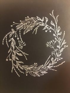 I love all of these beautiful Christmas chalkboard inspiration. Christmas Doodles, Christmas Drawing, Christmas Clipart, Christmas Art, Winter Christmas, Christmas Wreaths, Beautiful Christmas, Christmas Sketch, Xmas