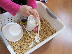 Learning with cheerios in preschool