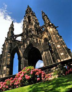 Sir Walter Scott Memorial,Edinburgh