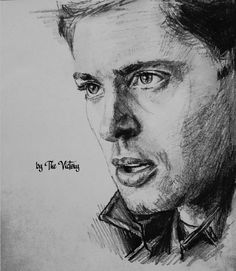 Dean Winchester5 (little sketch) by RoseMadder777.deviantart.com on @deviantART
