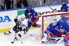 The New York Rangers will wrap up their series with the Pittsburgh Penguins this week. New York Trails Pittsburgh in the Series. New York Rangers, Pittsburgh Penguins, Nhl, Management, Drop, Baseball Cards, Tags, Sports, Google Analytics