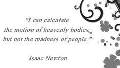 ISAAC NEWTON SITAT