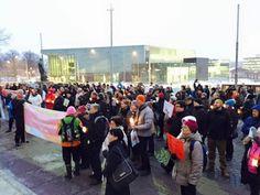 #Huoli2015 mielenosoitus parempien mielenterveyspalveluiden puolesta, talvi 2015