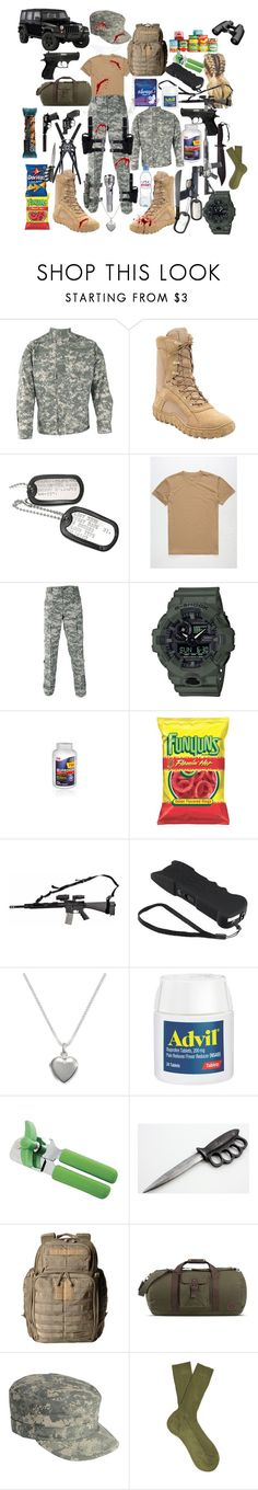 """""""Zombie Apocalypse"""" by cacker0214 ❤ liked on Polyvore featuring Propper, Rocky, Blue Crown, G-Shock, Giani Bernini, Norpro, 5.11 Tactical, Napapijri and Paris Texas"""