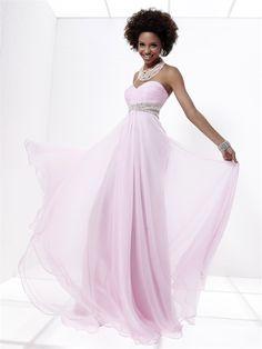 Charming A-line Sweetheart Floor-length Chiffon Beading Pink Homecoming Dresses - $118.99 - Trendget.com