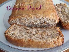 Homemade Low Fat Banana Bread Recipe