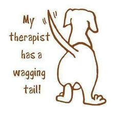 Wagging knub is more like it!
