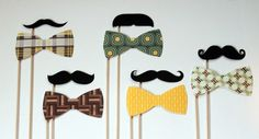 mustaches and bow-ties, oh my <3