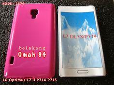 Kode Barang 1876 Jual Silikon Soft Case LG Optimus Dual L7 ii P714 P715 Merah Hati (Pink) | Toko Online Rame - rameweb
