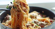 Tein taannoin mielettömän herkullista lihapullaspagettia ja se upposi muullekin perheelle niin hyvin, että se ansaitsee ehdottomasti oman p... Spaghetti, Pasta, Koti, Ethnic Recipes, Foods, Gourmet, Food Food, Food Items, Noodles