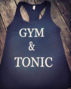 Check out this item in my Etsy shop https://www.etsy.com/listing/518986101/gym-tonic-tank