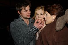 "https://flic.kr/p/6VhN87 | queer as folk family | Gale Harold,  Thea gill nad Michelle Clunie.The premier of the new season of ""Queer as Folk"" held by Details,  W,  Primetime,  and Perry Ellis..February 24.  2003..(c) Patrick McMullan.Photo-Gandalf Riecks/PMc"
