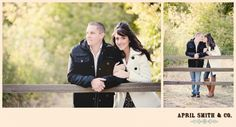 Angela & Robert | Engament Photography Oak Glen Apple Orchards » April Smith Photography