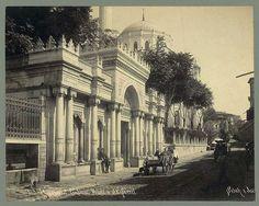 İstanbul Aksaray, Valide Sultan camii 1890'lar.