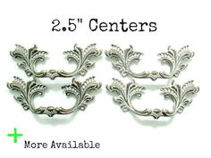 Sets of 4 French Provincial Drawer Handles  Custom by Fairyhome