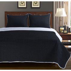 Superior Harley Cotton 3-piece Quilt Set - Overstock