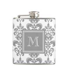 >>>Hello          Your Monogram, Grey Damask Pattern 2 Flask           Your Monogram, Grey Damask Pattern 2 Flask today price drop and special promotion. Get The best buyDeals          Your Monogram, Grey Damask Pattern 2 Flask please follow the link to see fully reviews...Cleck link More >>> http://www.zazzle.com/your_monogram_grey_damask_pattern_2_flask-256672880121384710?rf=238627982471231924&zbar=1&tc=terrest