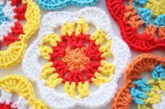 The Happy Motif, free crochet pattern | A la Sascha